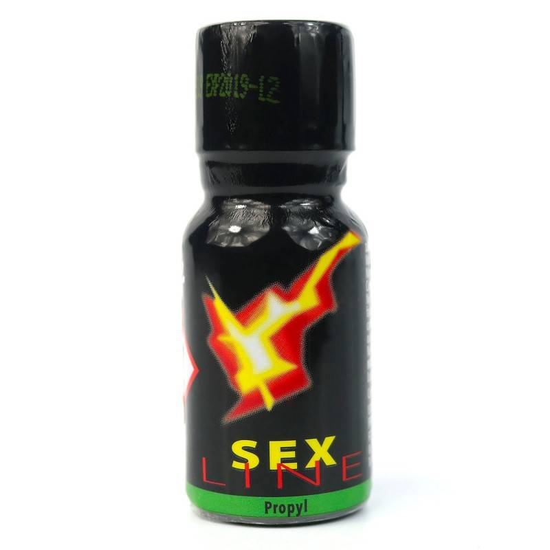 Poppers Sexline isopropyle 15ml SEXLINE