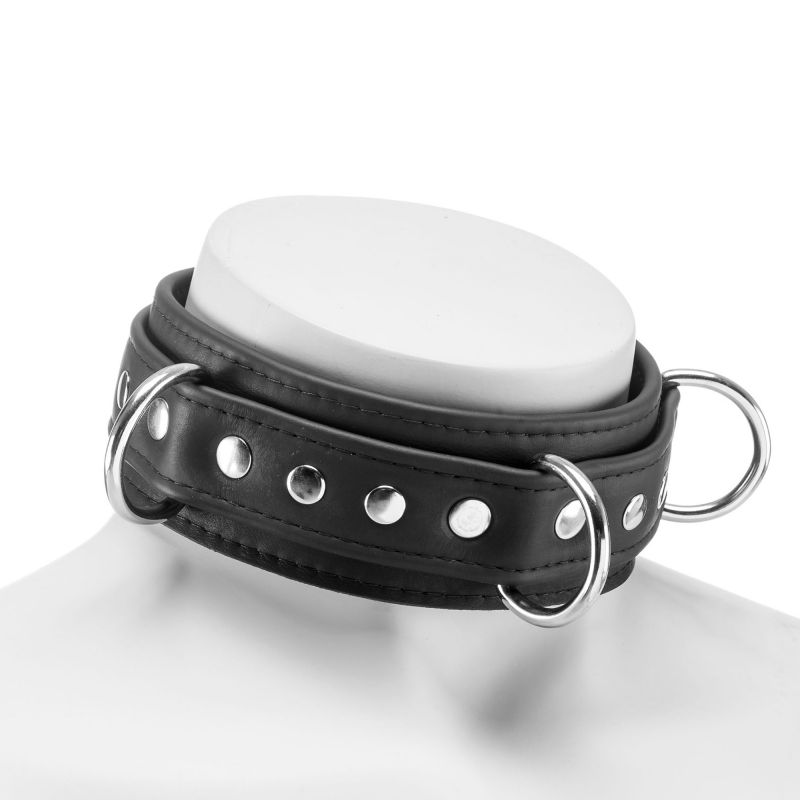 Bondage, BDSM, Dark-Line, Accessories, Collar, Leather, Leather, Collar